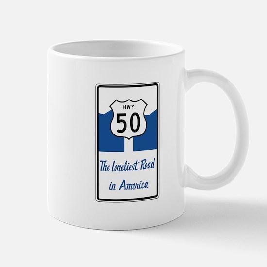 Highway 50, Loneliest in America, Nevad Mug