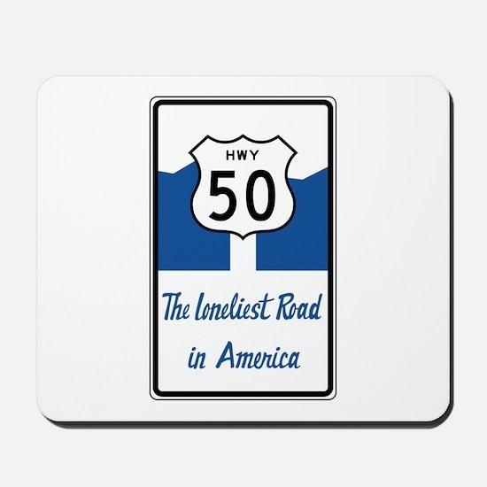Highway 50, Loneliest in America, Nevada Mousepad