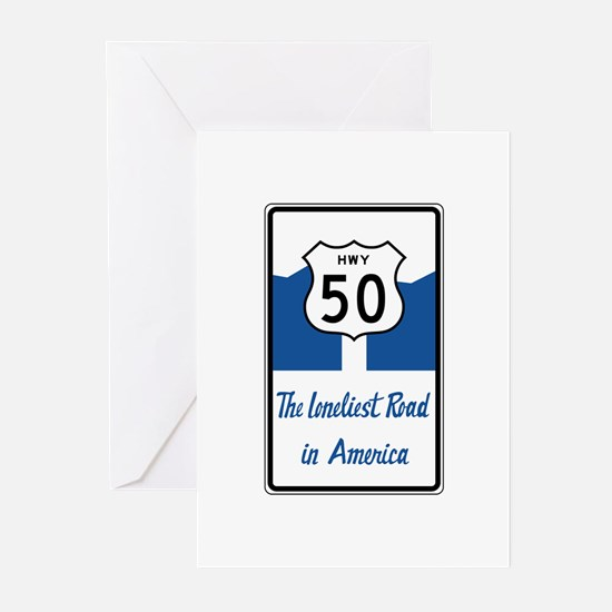 Highway 50, Loneliest in Greeting Cards (Pk of 10)