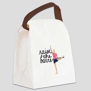 Raise The Barre Canvas Lunch Bag