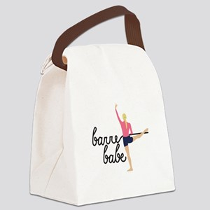 Barre Babe Canvas Lunch Bag