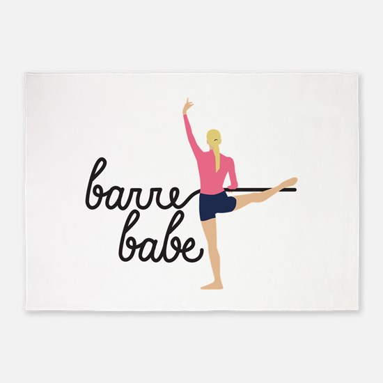 Barre Babe 5'x7'Area Rug