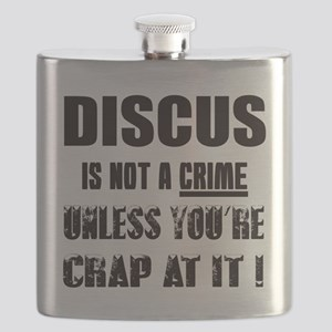 Discus is not a crime Unless you're crap at Flask