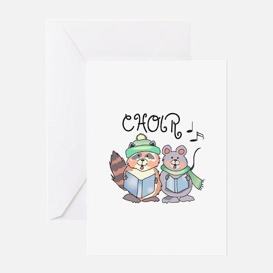 CHOIR Greeting Cards