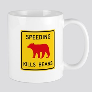Speeding Kills Bear, California (US) Mug