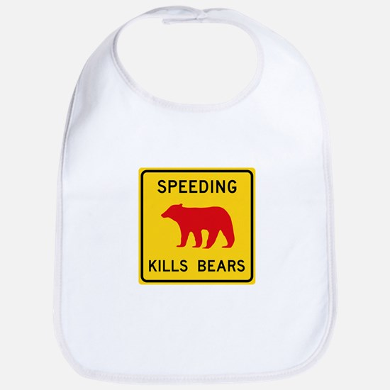 Speeding Kills Bear, California (US) Bib