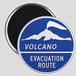 Volcano Evacuation Route, Washington Magnet