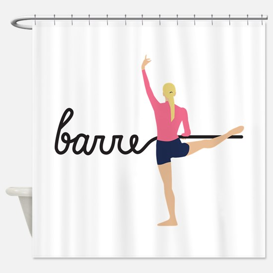 Barre Shower Curtain