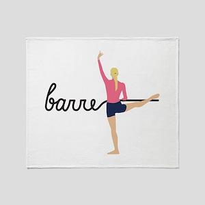 Barre Throw Blanket