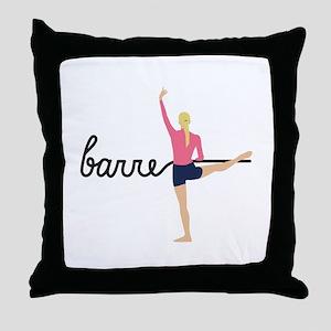 Barre Throw Pillow