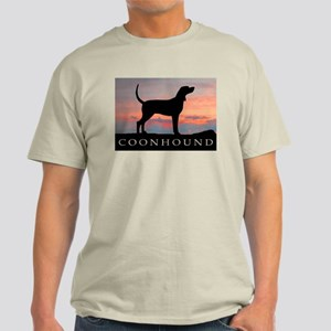Sunset Coonhound Light T-Shirt