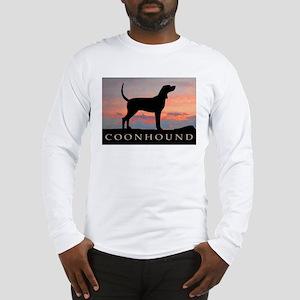 Sunset Coonhound Long Sleeve T-Shirt