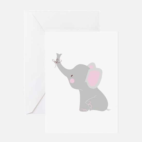 Little Elephant Greeting Cards