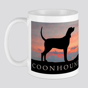 Sunset Coonhound Mug