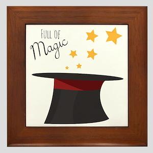 Full of Magic Framed Tile