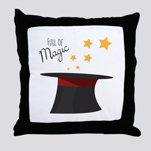 Full of Magic Throw Pillow