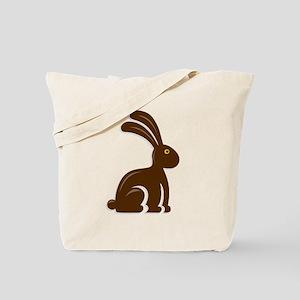 Funny Chocolate Bunny Tote Bag