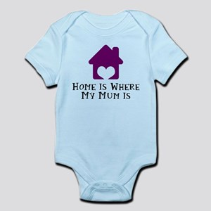 Home Is Where My Mum Is Body Suit