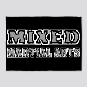 Mixed Martial Arts 5'x7'Area Rug