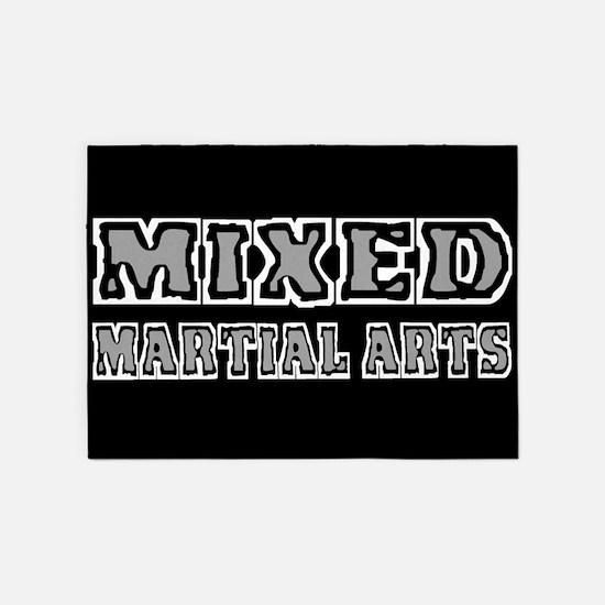 Mixed Martial Arts 5'x7'Area Rug
