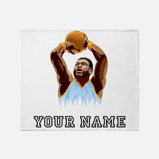 Basketball Player Throw Blanket