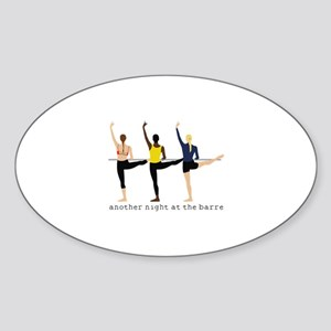 Night At The Barre Sticker