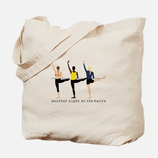 Night At The Barre Tote Bag