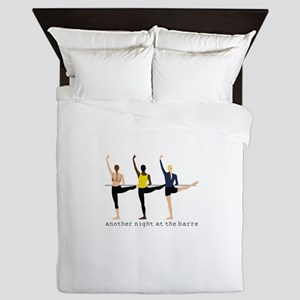 Night At The Barre Queen Duvet