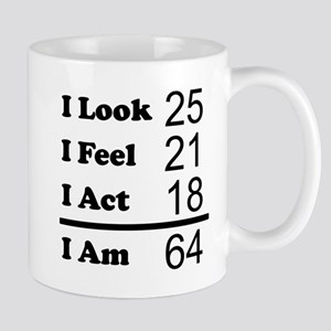 64th Birthday I Am 64 Mugs