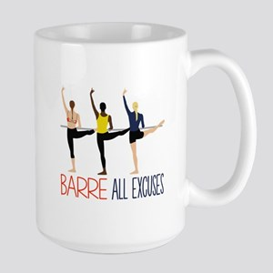 Barre All Excuses Mugs