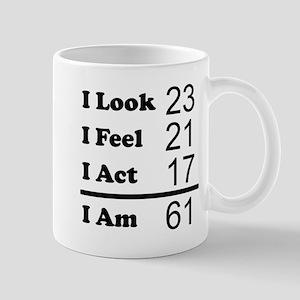 I Am 61 Mugs