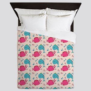 BUBBLES Queen Duvet