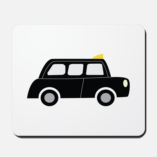Black Taxi Mousepad