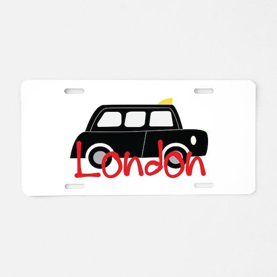 London 2 Aluminum License Plate