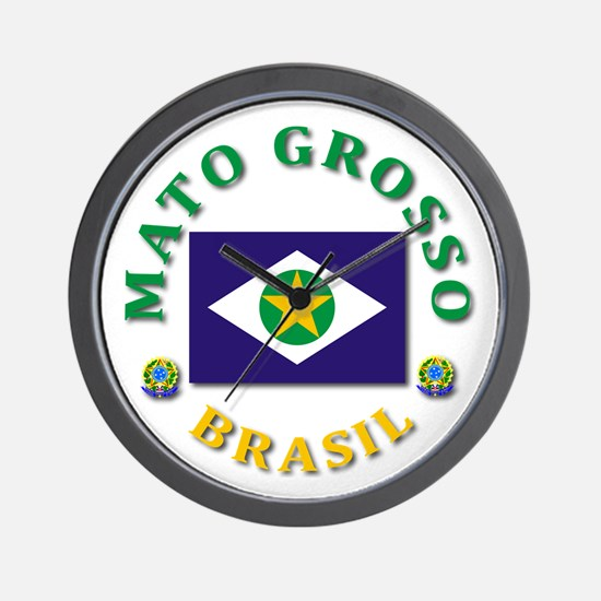 Mato Grosso Wall Clock