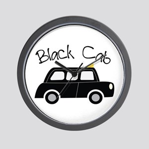 Black Cab Wall Clock