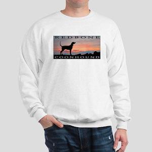 Redbone Coonhound Sunset Sweatshirt