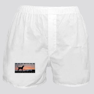 Redbone Coonhound Sunset Boxer Shorts
