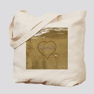 Hannah Beach Love Tote Bag
