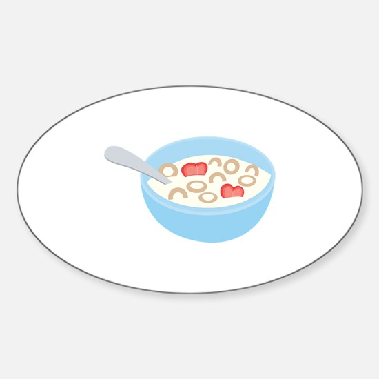 Cereal Bowl Decal