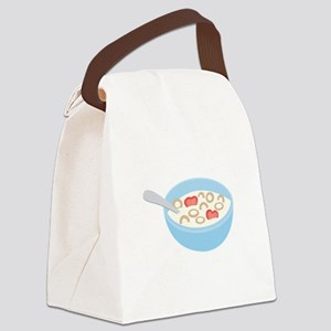 Cereal Bowl Canvas Lunch Bag