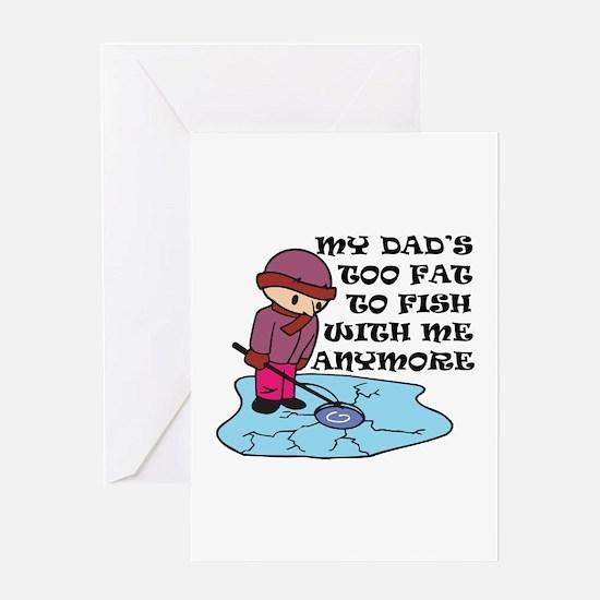 Fishing Humor Greeting Card