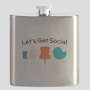 Let's Get Social Flask