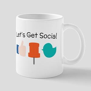 Let's Get Social Mugs