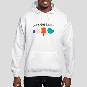 Let's Get Social Hoodie