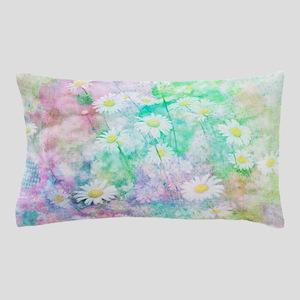 Watercolor daisies Pillow Case