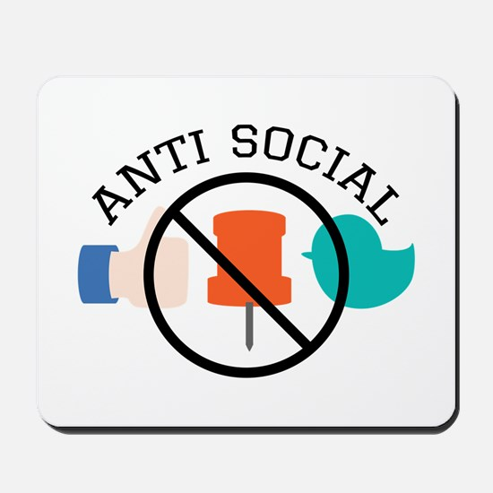 Anti Social Mousepad