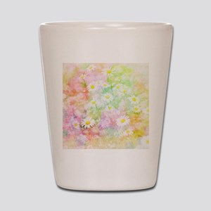 Daisy field Shot Glass