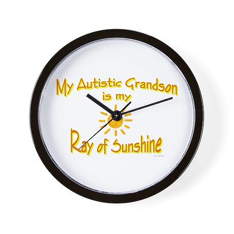 Ray Of Sunshine (Grandson) Wall Clock