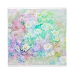 Watercolor daisies Queen Duvet